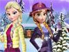 Анна и Эльза: Зимние наряды