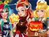 Принцессы в Хэллоуин