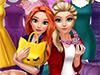Эльза и Анна: Поход за покупками