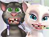 Том и Анжела у дантиста