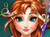 Анна: Причёска