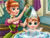 Анна и малышка