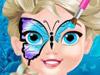 Эльза: Face art