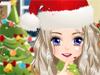 Макияж в Рождество