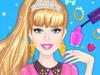 Маникюр и макияж Барби