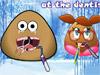 Парочка Pou у стоматолога