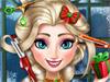 Рождественская причёска Эльзы