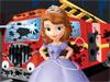 Принцесса София моет машину