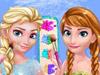 Анна и Эльза: Макияж