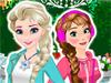 Анна и Эльза: Наряды и причёски