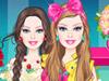 Барби: Цветочные наряды