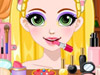 Блестящий макияж Рапунцель