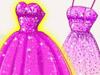 Блестящие платья для СуперБарби