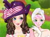 Классические шляпы и макияж