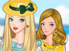 Красавица-блондинка