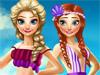 Летний отдых Анны и Эльзы