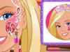 Магические рисунки на лице Барби