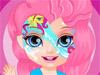 Барби: Рисунок на лице