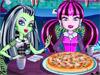 Монстр Хай: Делаем пиццу