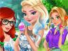 Принцессы на празднике Пасха