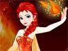 Огненный макияж: Эльза