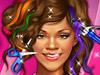 Рианна: Причёска