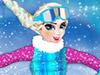 Эльза сноубордистка