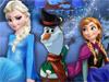 Собери снеговика Олафа