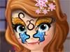 Принцесса София: Рисунок на лице
