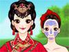 Традиционная невеста из Китая