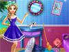 Уборка комнаты: Эльза