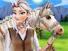 Эльза: Уход за лошадью