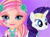 Малышка Барби: Уход за пони