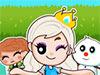 Снежная Королева спасает принцессу 2