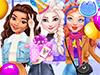 Принцессы Диснея: Вечеринка на катке