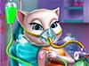Кошечка в больнице