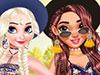 Принцессы на летнем фестивале