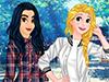 Весенние прогулки с принцессами