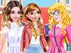 Принцесса Аврора идёт в школу