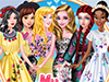Принцессы: Весенние наряды